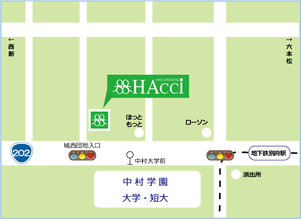 HAcciご案内MAP